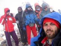 Damavand summit