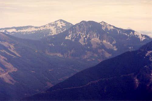Mt. Defiance's main peak at...