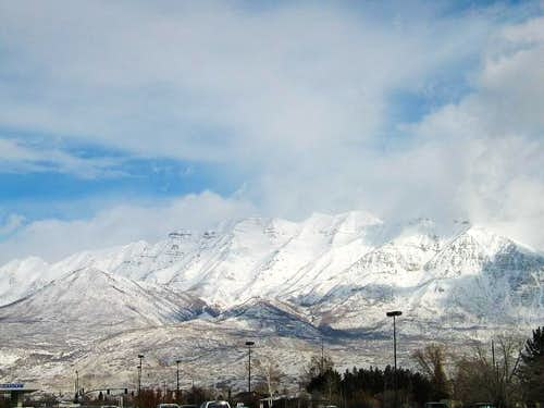 Mt. Timp the day after a...