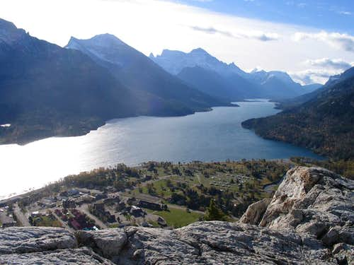 Waterton Lakes.  Alberta Canada
