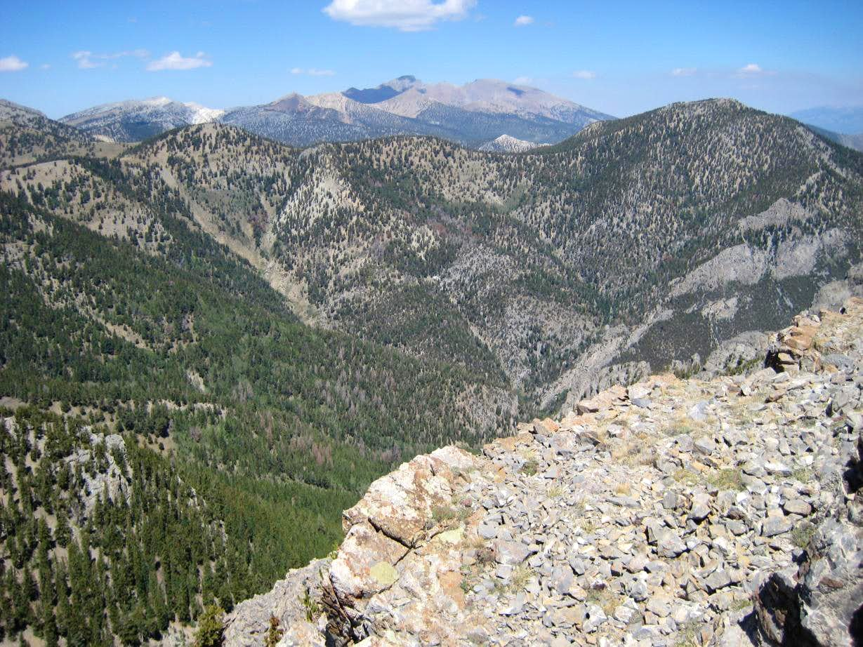 Granite Peak, Snake Range, NV