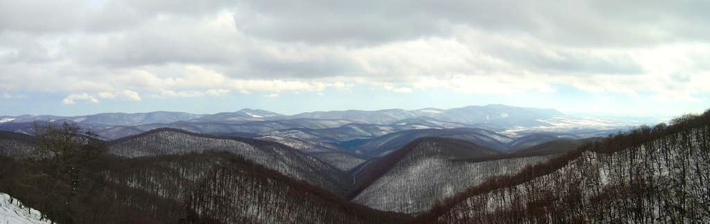 Winter in the Bükk