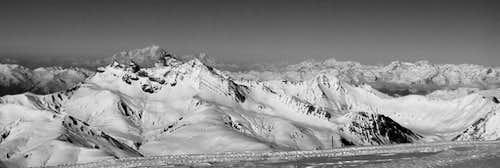 Massif des Cerces & Mont-Blanc