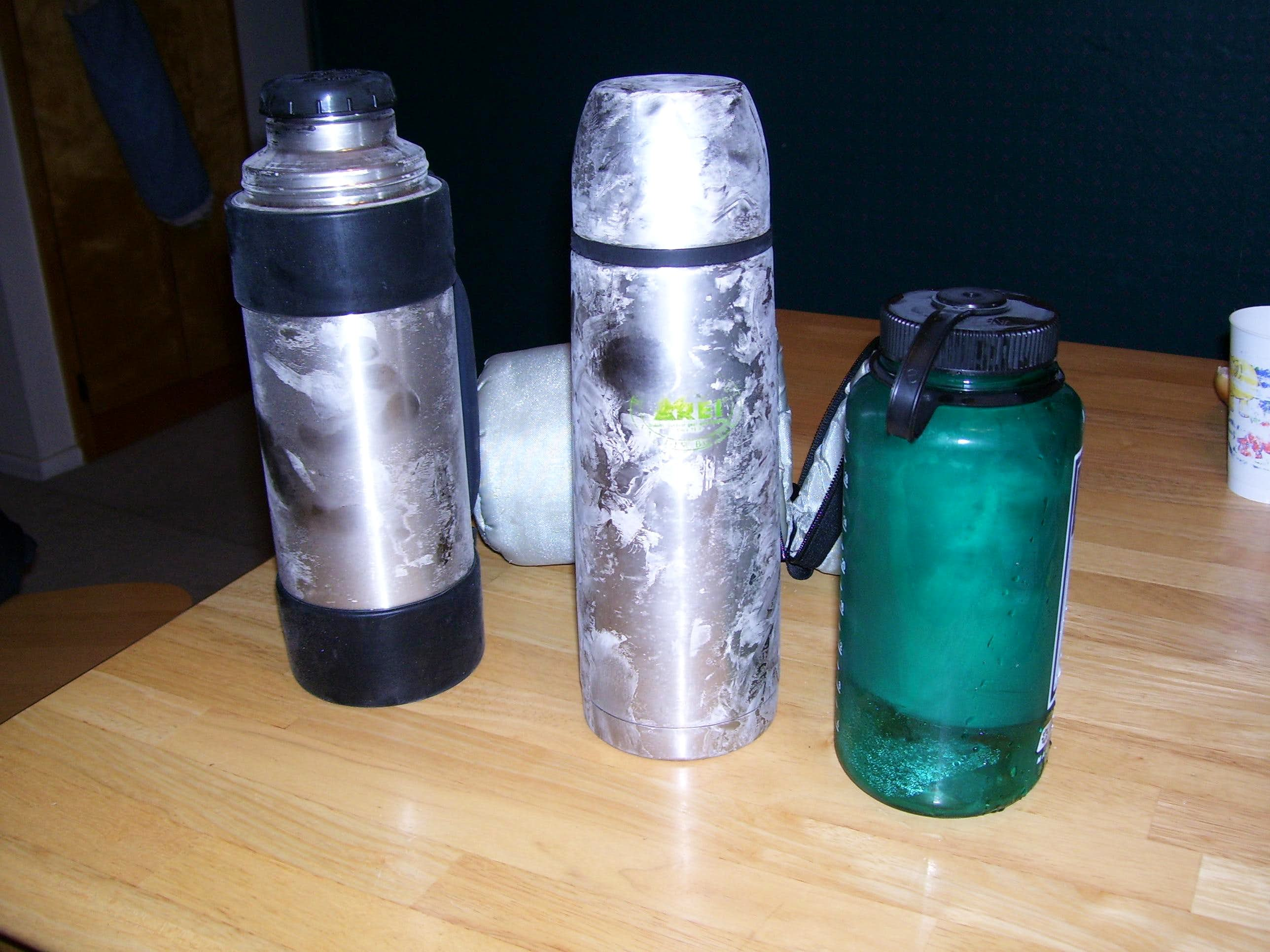 Cold Weather Test for Water Bottles