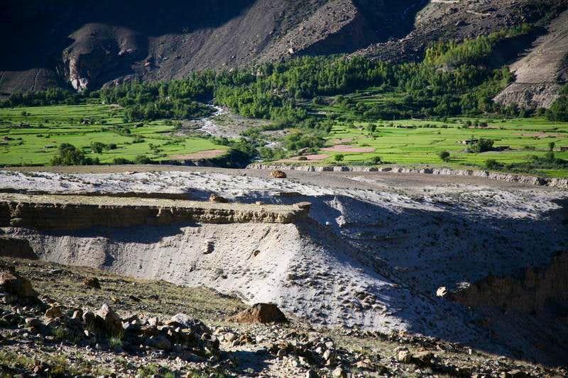 Askole Village (3048m), gateway to Baltoro Glacier, Karakoram, Baltistan