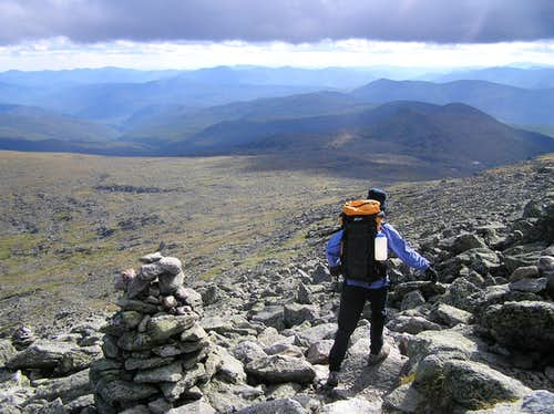 Mount Washington Above Tuckerman\'s