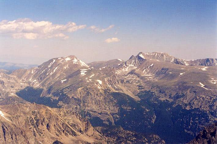 Mt. Hague (12, 328 ft) and...