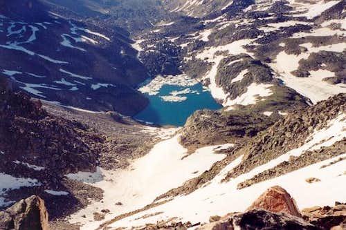 Granite Lake (c. 10,100 ft),...