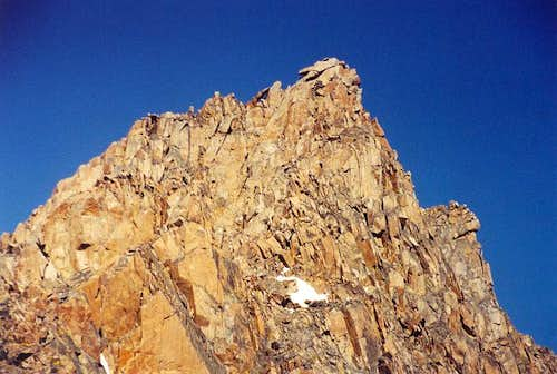The upper East Ridge of...