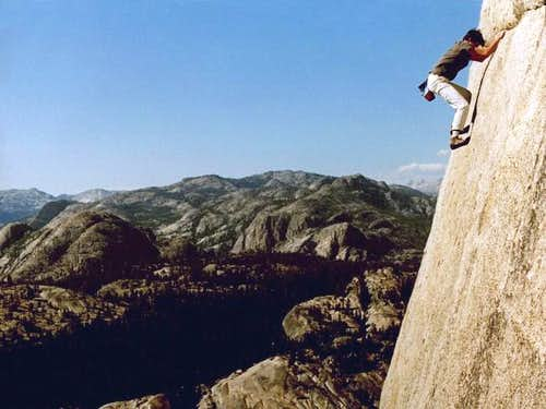 Paul Parker on a free solo of...