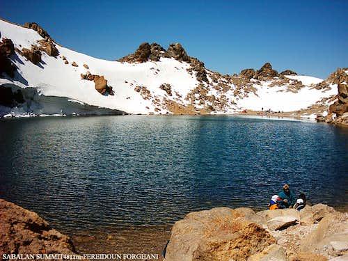 Sabalan Summit 4811m