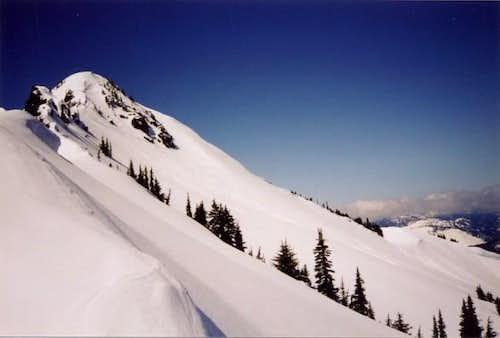 Jim Hill Summit. Spring, 2001