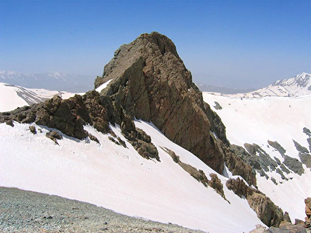 North Slopes of South Borj Peak