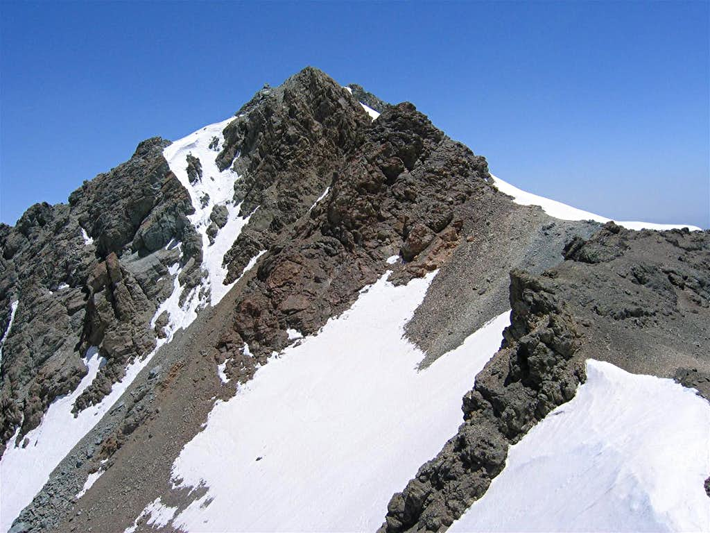 South Slopes of North Borj Peak