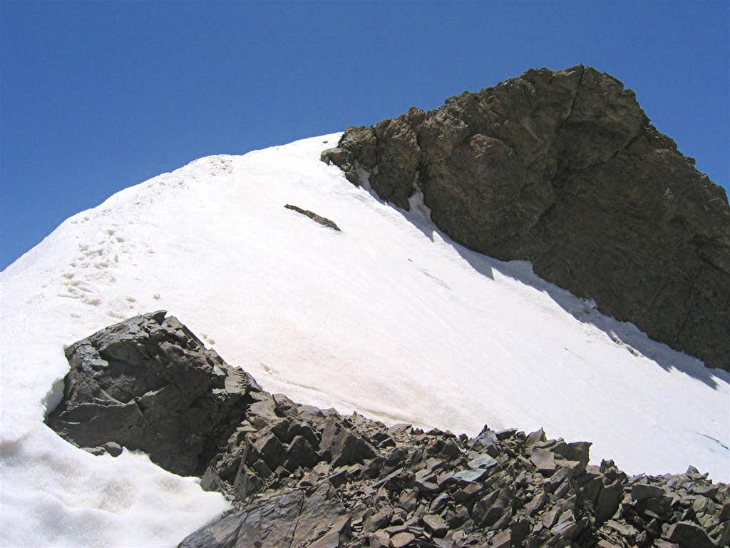 North Slopes of North Borj Peak