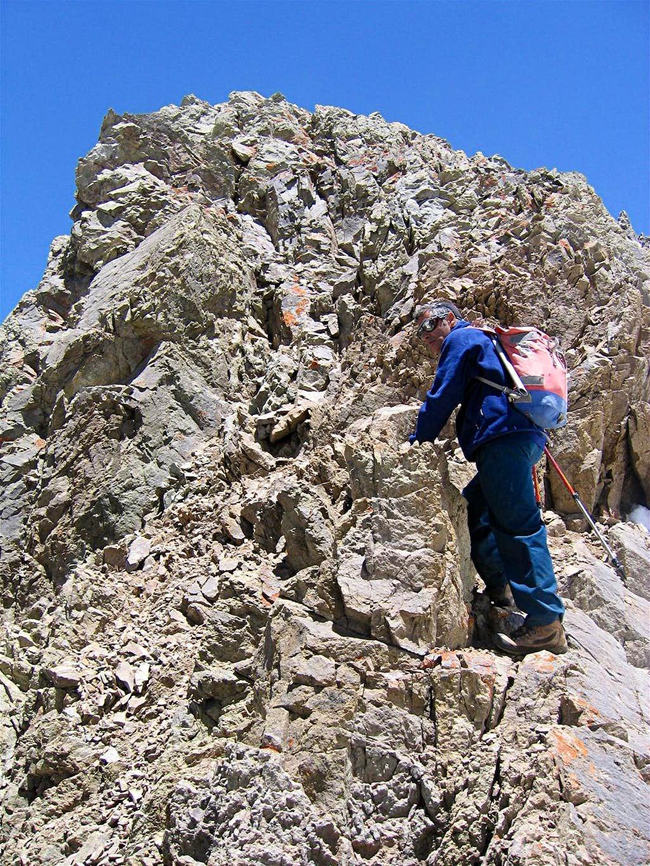 Below Summit