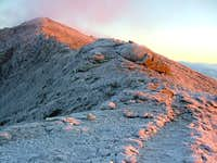 Mount Lincoln at  Sunrise
