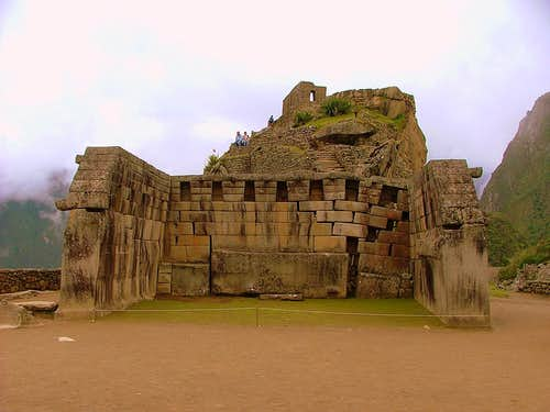 Sacred Plaza\'s main temple.