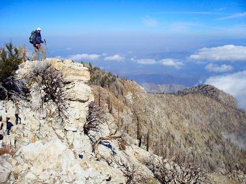 Cucamonga and Etiwanda Peaks