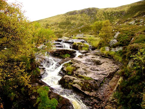 Waterfalls on route