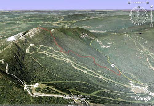 Mt. Mansfield 3D View