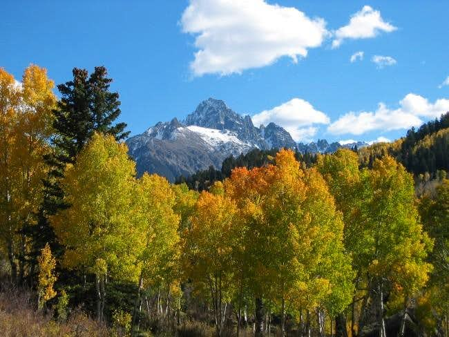 Sneffels in the fall from...
