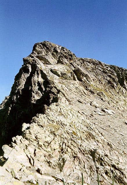 The Pointe de Drône (2950m)...