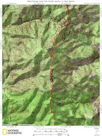 Black Range Crest Trail (South, section 1)