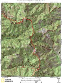 Black Range Crest Trail (North, section 1)