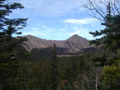Witter Peak and Mount Eva