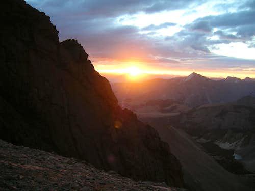Borah sunrise