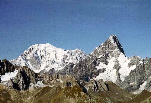 Mont Blanc (4810m), Les...