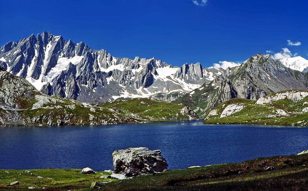 Grand Golliat from Lac de...