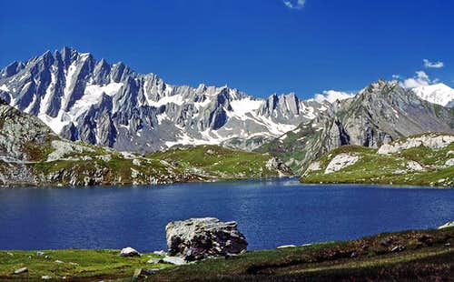 Grand Golliat from Lac de...
