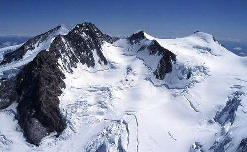 the four main peaks of Monte...