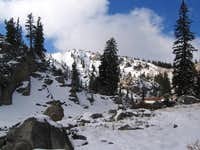 view of Catherine Pass