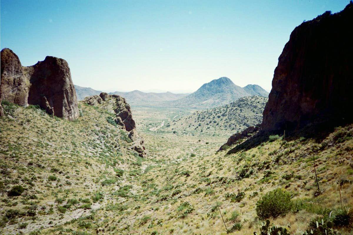 Peloncillo Mountain Climbing Hiking Amp Mountaineering