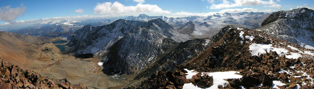 View of the Southern Sierra from Koip Peak