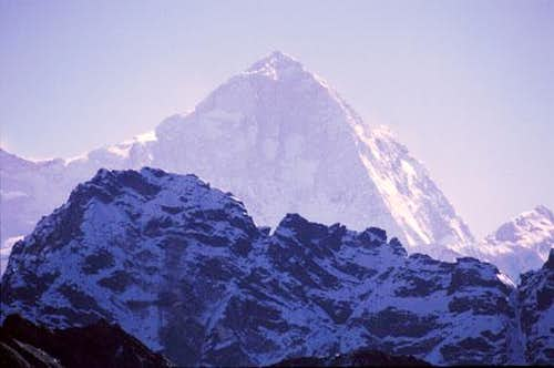 South West ridge of Makalu.