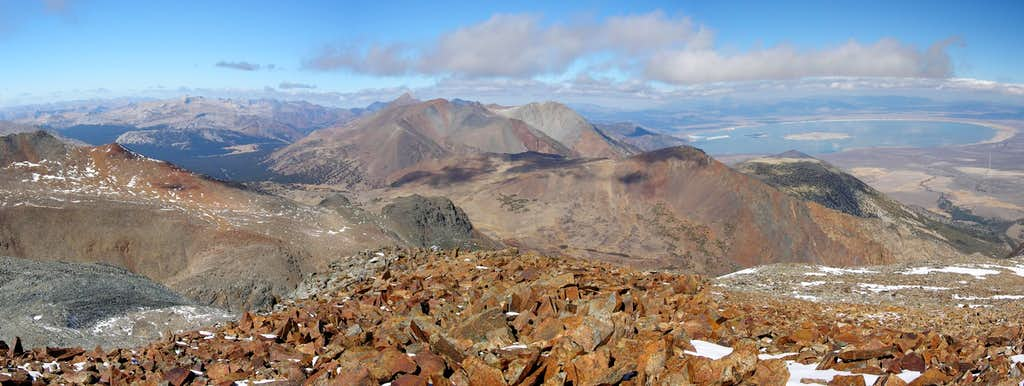 View to the North from Kiop Peak