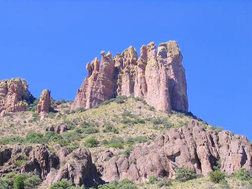 Silver Peak, Arizona (The Fingers)
