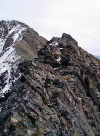 Summit Ridge Crux