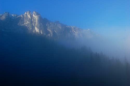 Sawtooth crag