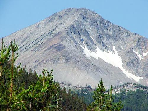 Ajax Peak east ridge