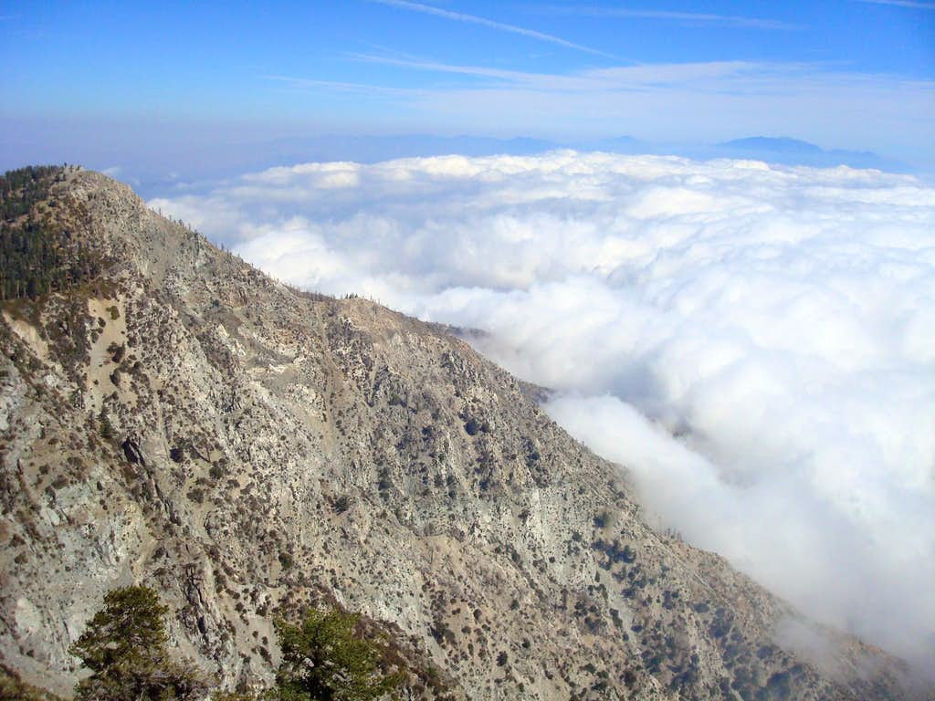Etiwanda Peak from Cucamonga