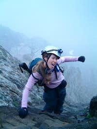 Climbing Wetterhorn