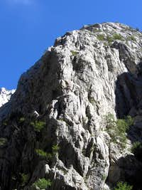Climbers in Paklenica