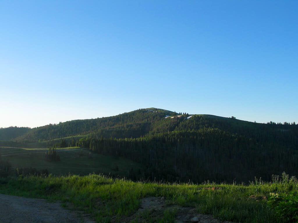 Monument Peak in early morning light