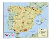 Spanish National Parks - geography