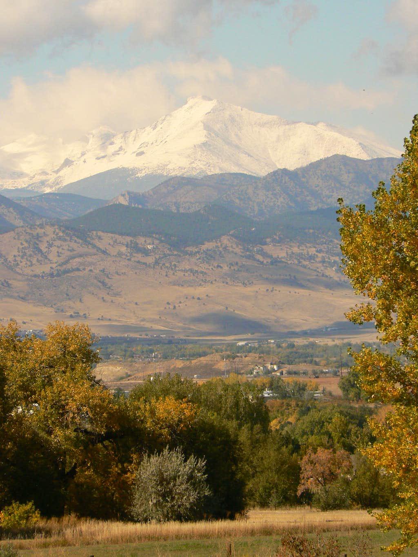 Longs Peak from Baseline Rd.